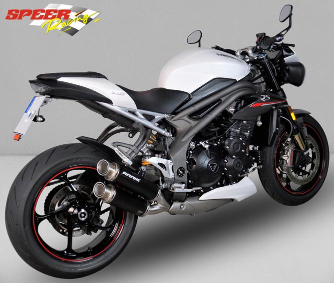 Exhaust System Triumph Speed Triple Bodis Exhaust
