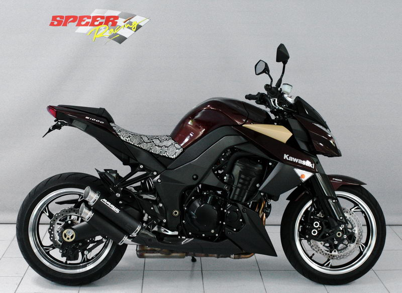 exhaust system kawasaki z1000 z1000r z1000sx bodis. Black Bedroom Furniture Sets. Home Design Ideas