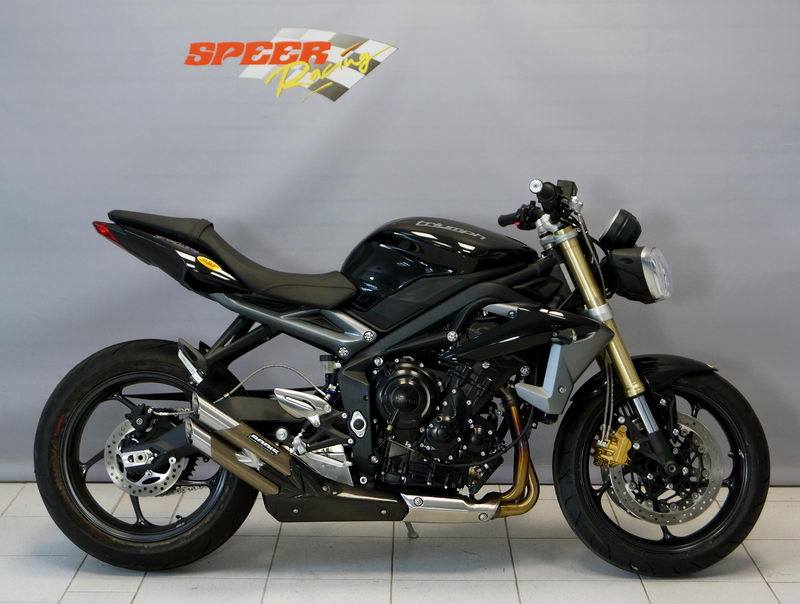 exhaust system triumph street triple bodis exhaust. Black Bedroom Furniture Sets. Home Design Ideas