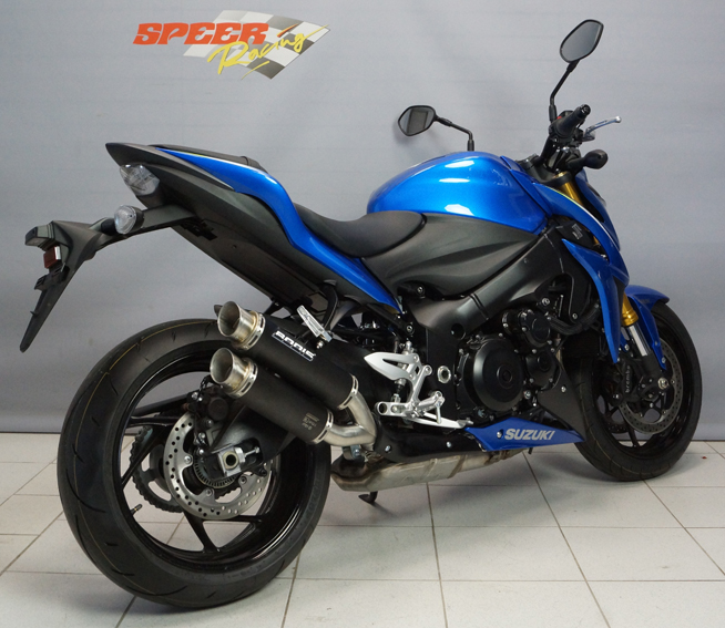 auspuffsystem suzuki gsx s1000 f bodis exhaust. Black Bedroom Furniture Sets. Home Design Ideas